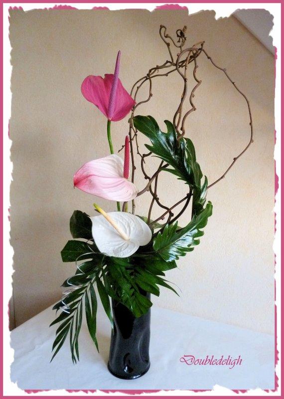 Bouquet en hauteur ....