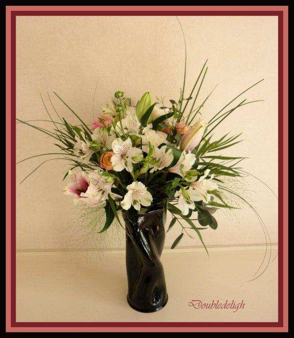 Travail sur bouquet flou ...