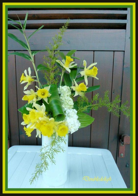 Bouquets avec fleurs de montagne .....