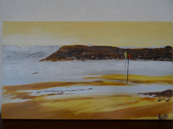 Toile plage de la Palue
