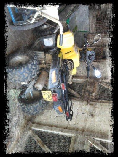 Mon Quad Dinli Hélix 150cc