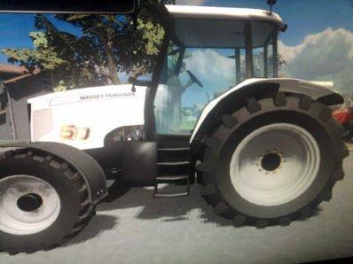 Farming Simulator avec paysan de la savoie ( concession Massey ferguson )