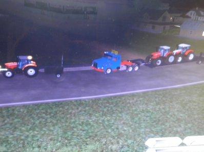 Et enfin convoi agricole
