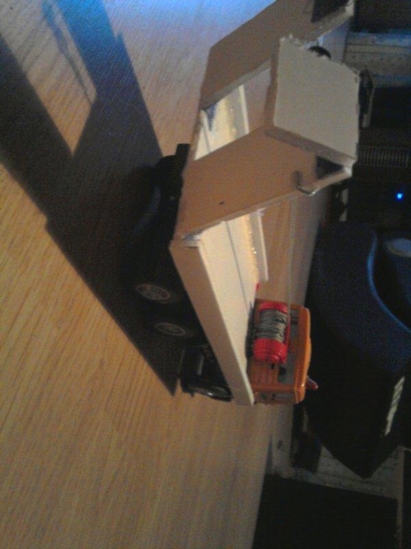 Création dun camion plateau a partir dun camion poubelle