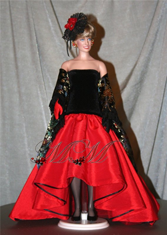 Ré-création,  robe princesse Diana