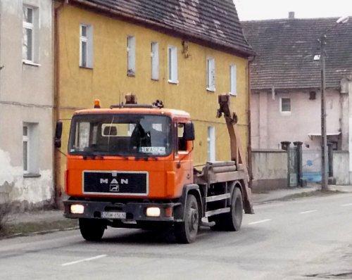 Multi-benne en Pologne