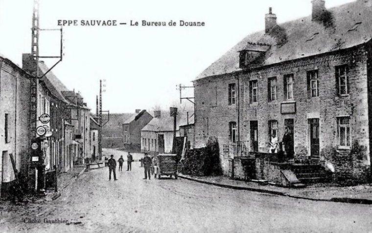 Belgique menin bureau des douanes et rue de lille très bon