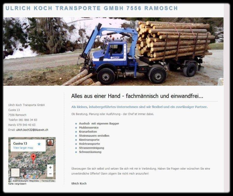 Multi benne societe koch ag blog de escargot vert for Koch transporte