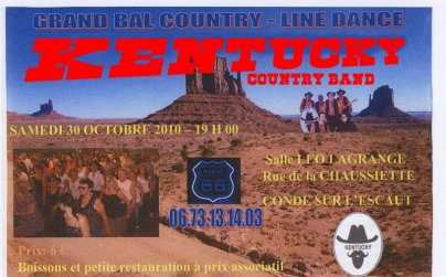Concert des Kentucky à Condé le 30 octobre 2010