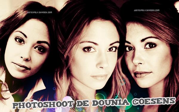 Dounia coesen (photoshoot).