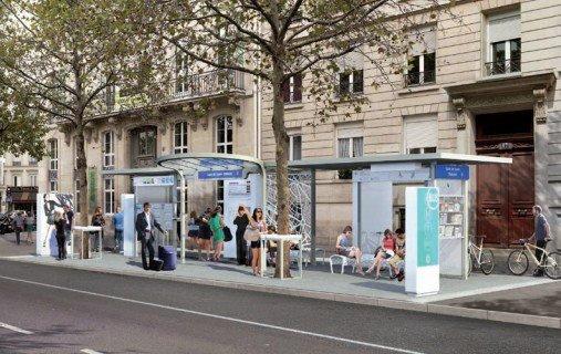 arrête de bus à paris