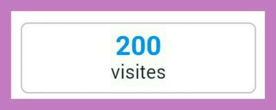 200 visiteurs !