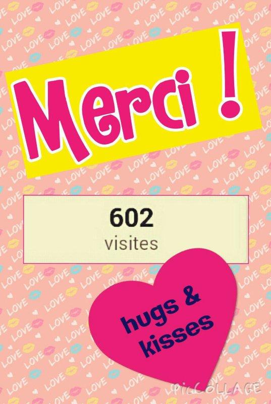 Plus de 600 visiteurs !