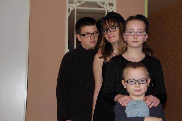 mon frere et mai deux soeur