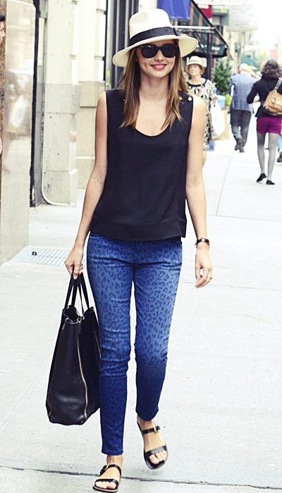 Miranda fait du shopping à New York, le 26 juin