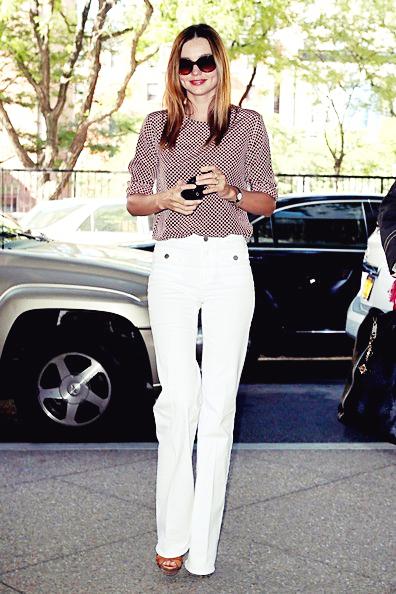 Miranda dans les rues de New York, le 27 juin