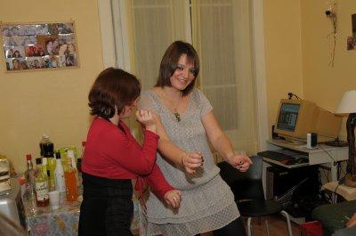 moi et ma copine entrai de danser