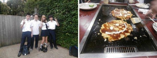 2012年9月22日- Rotary meeting, Cérémonie du thé et Okonomiyaki party!