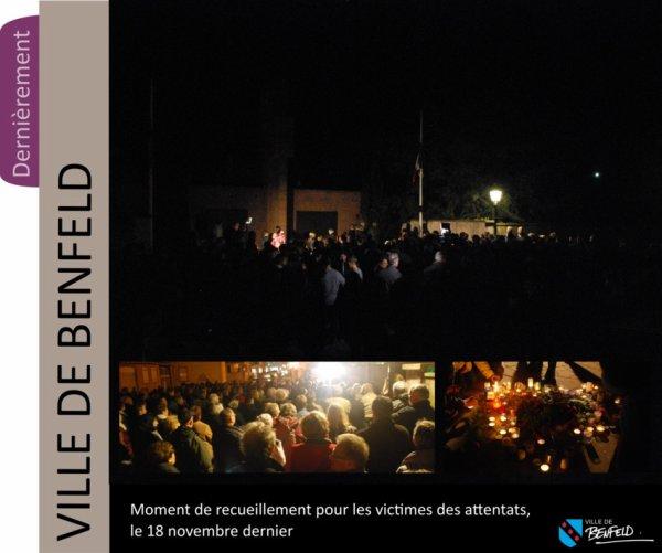 Bravo , bel hommage fait pour les victimes des attentats