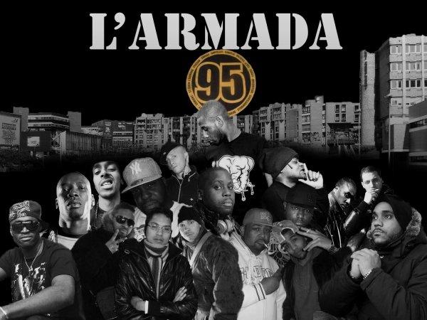 L'ARMADA UNDERGROUND / 95 DEBARQUEMENT jo-manyx feat berto (2017)