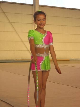 Victoire / 12ans / 19.11.97 / gymnaste de G.R en DN