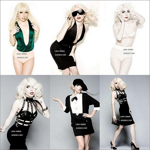 . Vendredi 24 Juin  - En 2010, Gaga posait pour le photographe Kenneth Willdart pour le magazine Cosmopolitan. Aujourd'hui, des photos inédites viennent d'arriver sur la toile..