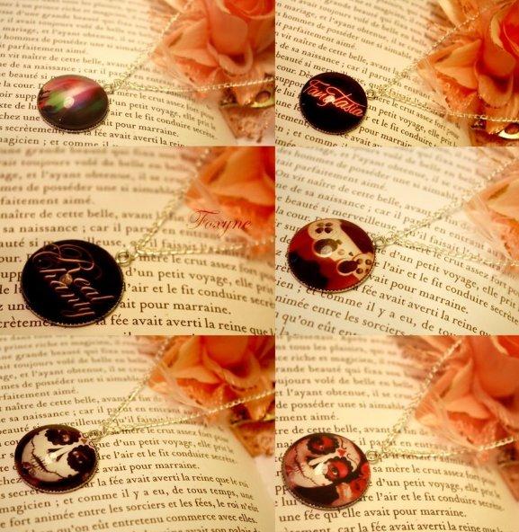 Voici une petite série de bijoux à mon effigie :)