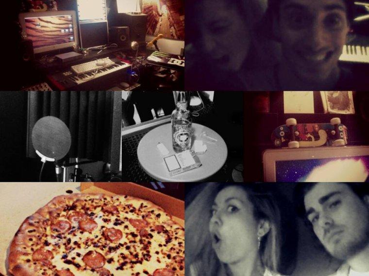 Résultat d'une longue nuit en studio !