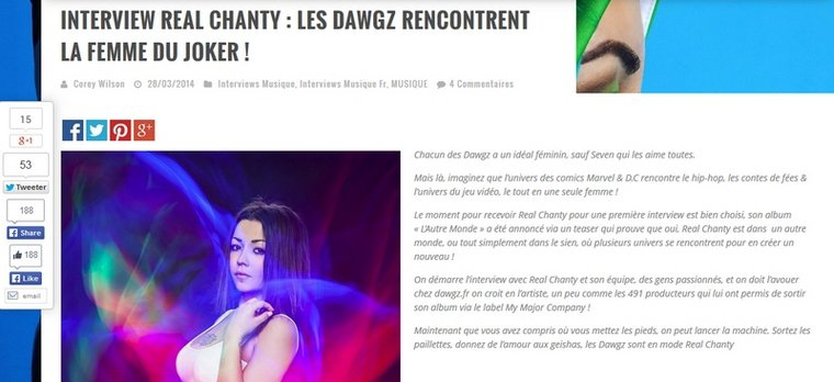 Nouvelle Interview !