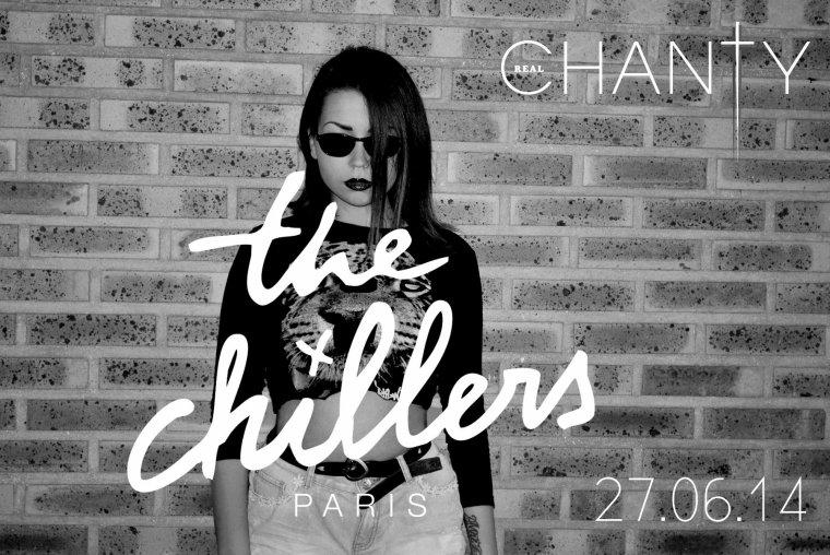 Retrouvez-moi à la soirée The Chillers au Milliardaire ! (ce vendredi 27 Juin)