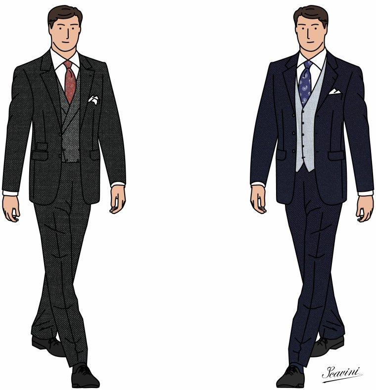 Question mes amies : pour le père de la mariée : costume entier ou juste gilet ???