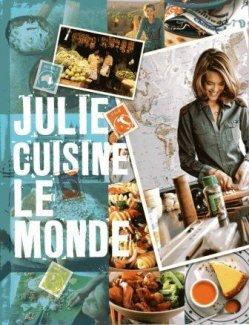 Livre Julie cuisine le monde 5 ¤uros.