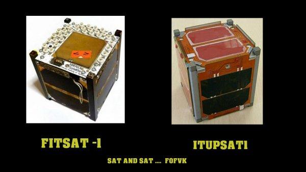 F0FVK / RECEPTION MICRO SAT / FITSAT1 / ITUPSAT1