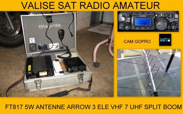 VALISE SAT RADIO AMATEUR
