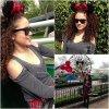 . 31/03 /13 . Madison Pettis  était à Disneyland avec ses amis à Los Angeles.  .