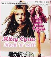 ............. Venez votez pour moi au concour sur Smiley-cyrusweb, Vous verez mes 3 montages sur Miley!