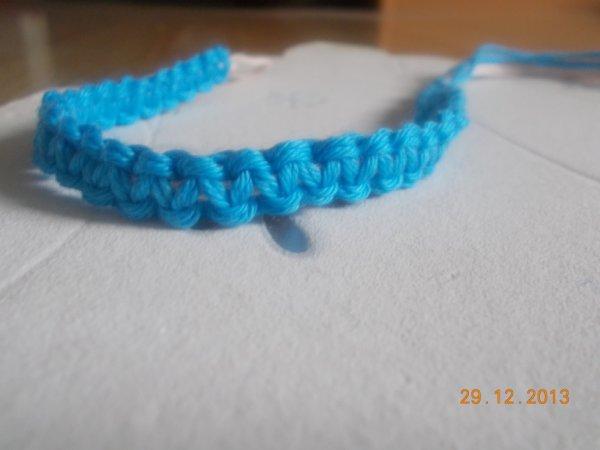 Bracelet Unis Bleu
