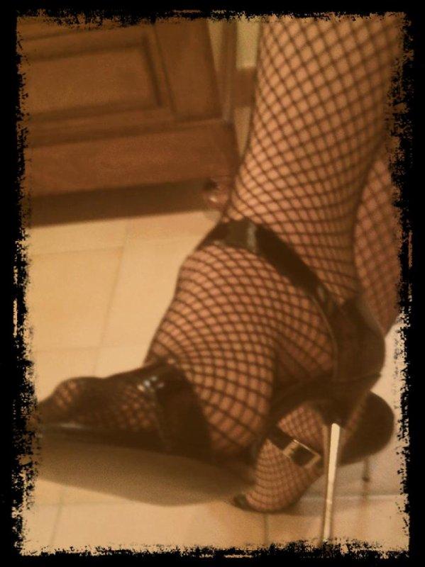Photo de mes petits pieds résillés