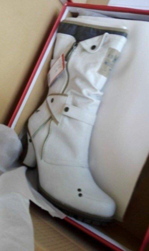 Mes nouvelles bottes !