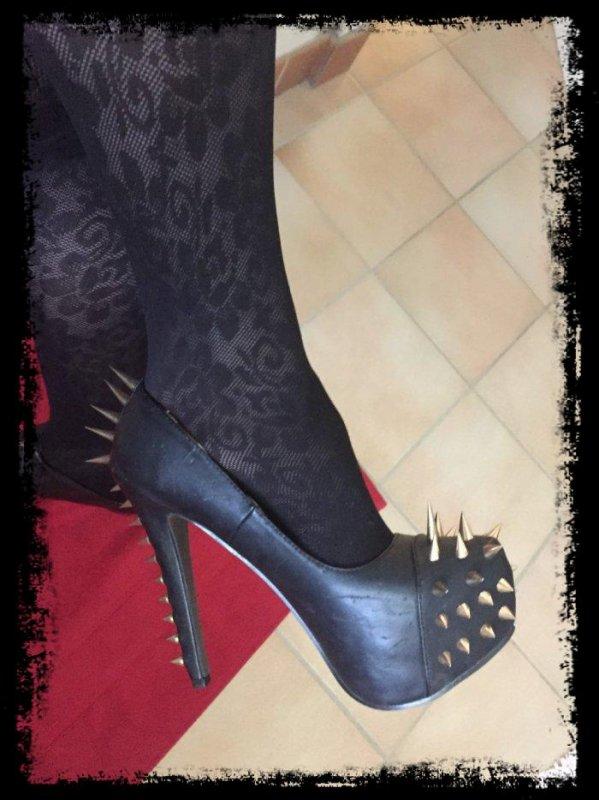 mes chaussures de sécurité hihi