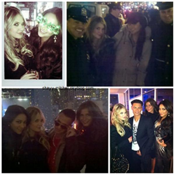 Shay passe le Jour de L'an à New-York avec Ashley Benson.