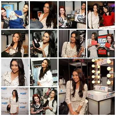 "Shay était au ""Stuff you must..."" par l'émission Access Holliwood.  --> 15/01/11"