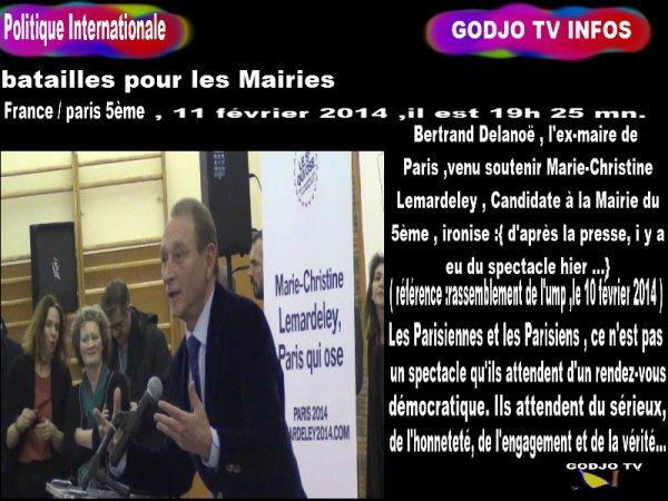 TRANSMISSION / France ; Batailles pour les Mairies