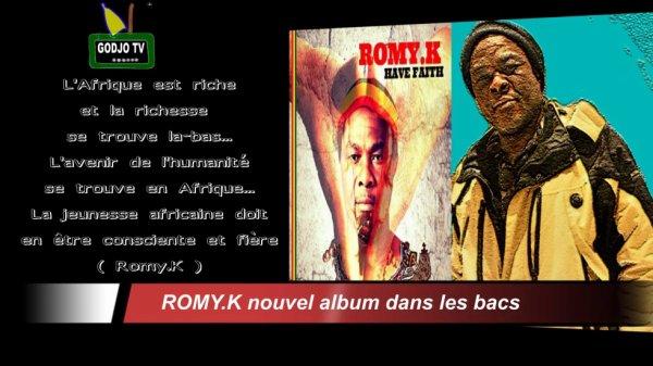 ROMY.K  le nouvel album est en ligne / romykmusic.com