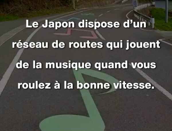 Au Japon : les routes