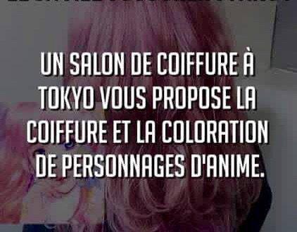 Au Japon : salon de coiffure spécial