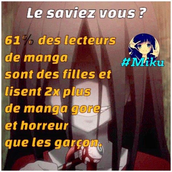 Le saviez-vous cher otaku ?