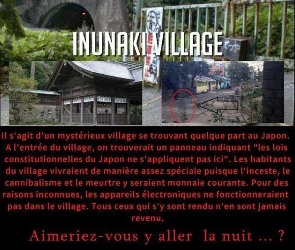 Au Japon : Le village d'Inunaki