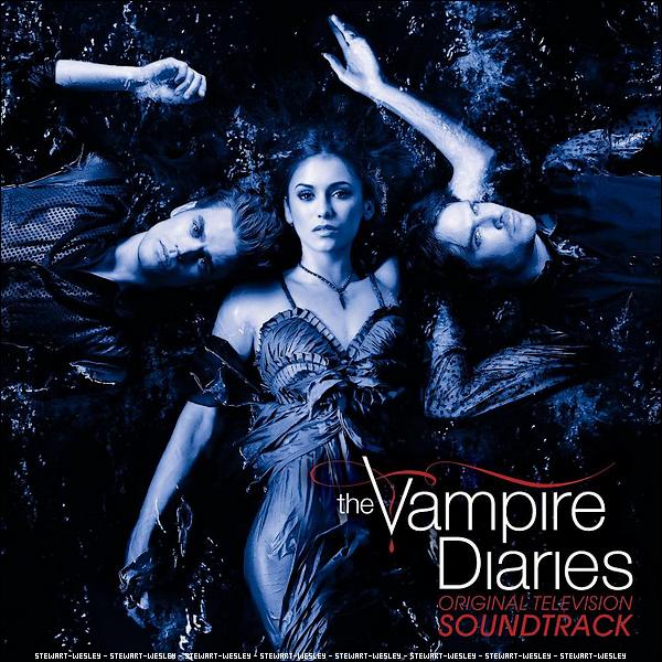 La Couverture de l'album de la bande originale de The Vampire Diaries. Juste M-A-G-N-I-F-I-Q-U-E !