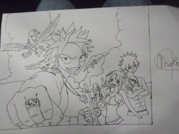 Dessin Fairy Tail !